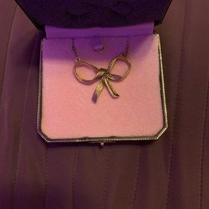 Juicy Couture Bow Necklace